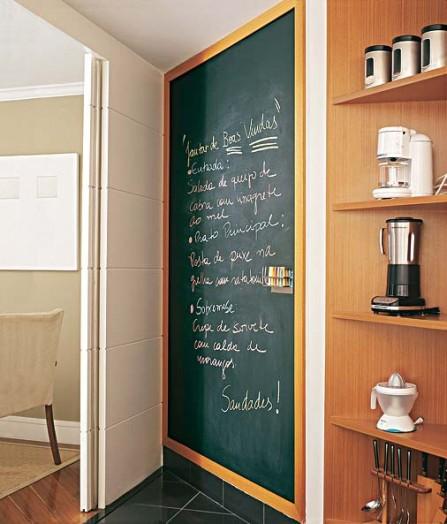 Decora la cocina con pintura de pizarra - Decorar paredes de cocina ...