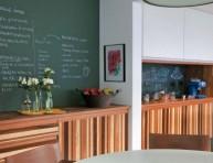imagen Decora la cocina con pintura de pizarra