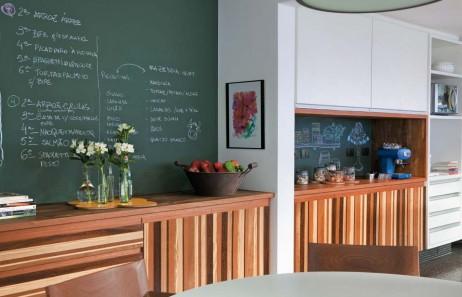 Decora la cocina con pintura de pizarra - Pizarra para cocina ...