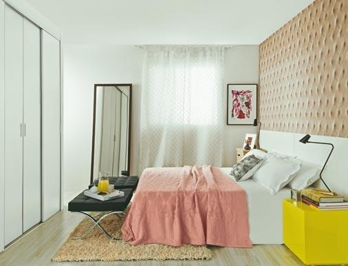 Habitaci n de matrimonio peque a - Como decorar una habitacion pequena de matrimonio ...