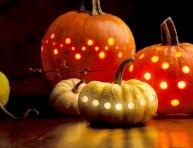 imagen Alternativa a las calabazas de Halloween, las piñas!