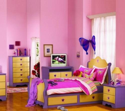 Decorar con mariposas la habitacion 12