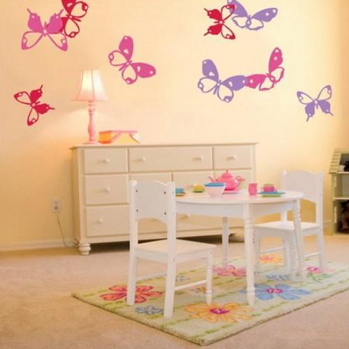 Decorar con mariposas la habitacion 15