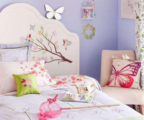 Decorar con mariposas la habitacion 2