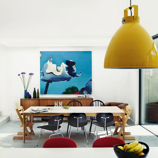 La silla DCM Eames 4