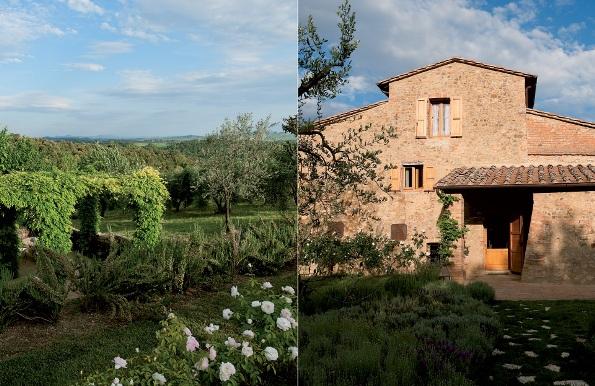 Restauraci n de una casa en la toscana - Casa rural en la toscana ...