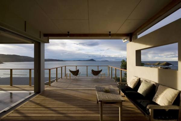 Una casa en la playa for Terraza al frente dela casa