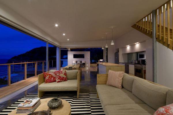 Una casa en la playa for Terraza dela casa