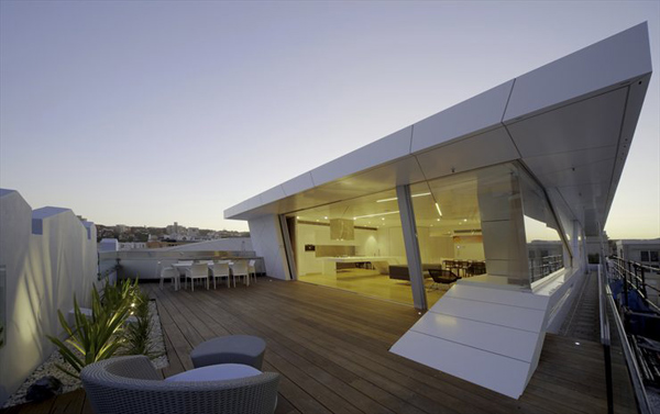 casa futurista en sydney