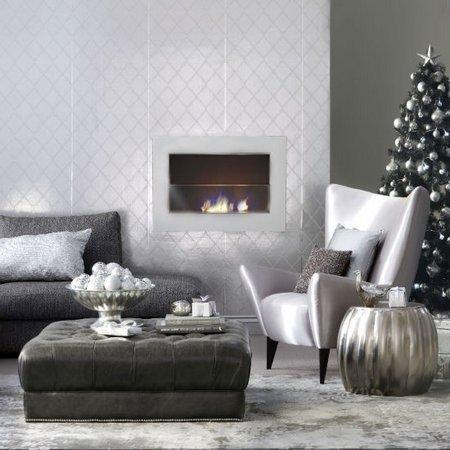 Diez salones decorados para Navidad 2