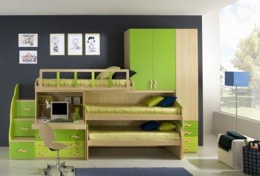 10 camas para ahorrar espacio for Disenos de cuartos para ninas sencillos