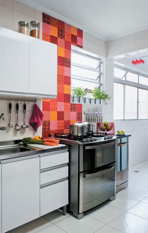 Apartamento cargado de buenas ideas - Tamano azulejos cocina ...