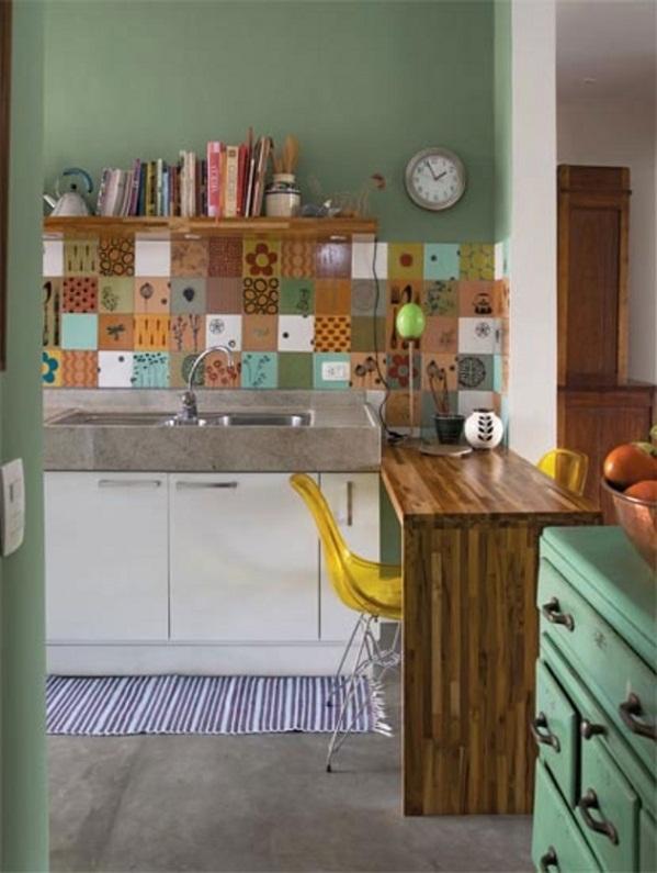 Cocina americana para apartamentos peque os for Modelos de departamentos pequenos para construir