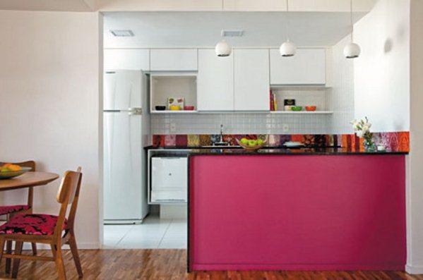 decoracao cozinha flat:Cocina americana para apartamentos pequeños Artículo Publicado el 10