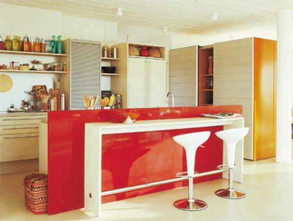 decoracao kitnet casal:Cocina americana para apartamentos pequeños Artículo Publicado el 10