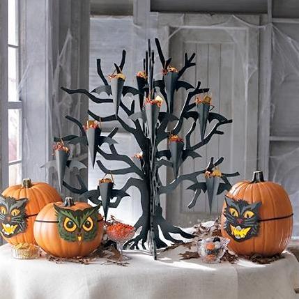 C mo decorar apartamentos peque os para halloween - Como hacer decoraciones de halloween ...