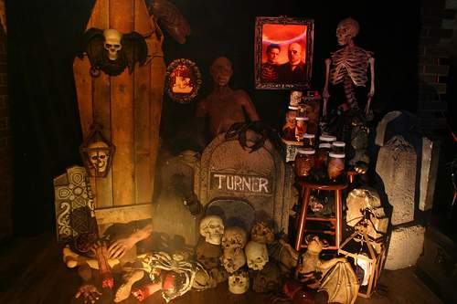Consejos de decoraci n para halloween for Halloween haunted room ideas