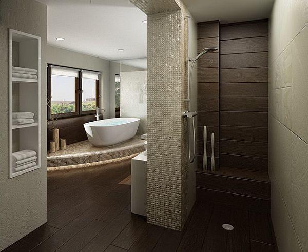 Cuartos de ba o con ducha abierta for Cuartos de bano con ducha