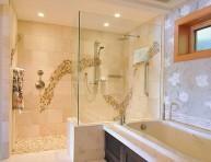 imagen Cuartos de baño con ducha abierta