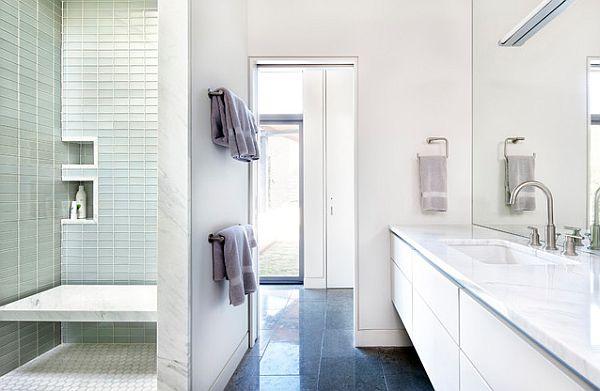Baños Con Ducha Abierta:Modern Bathroom Doorless Shower