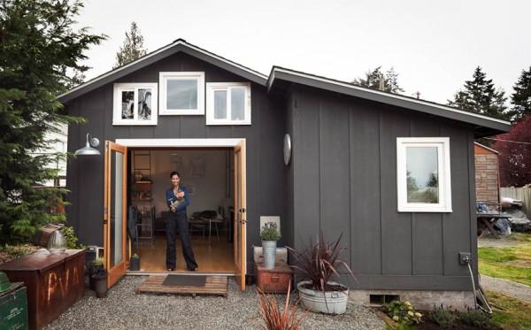 De garaje a mini-casa 1