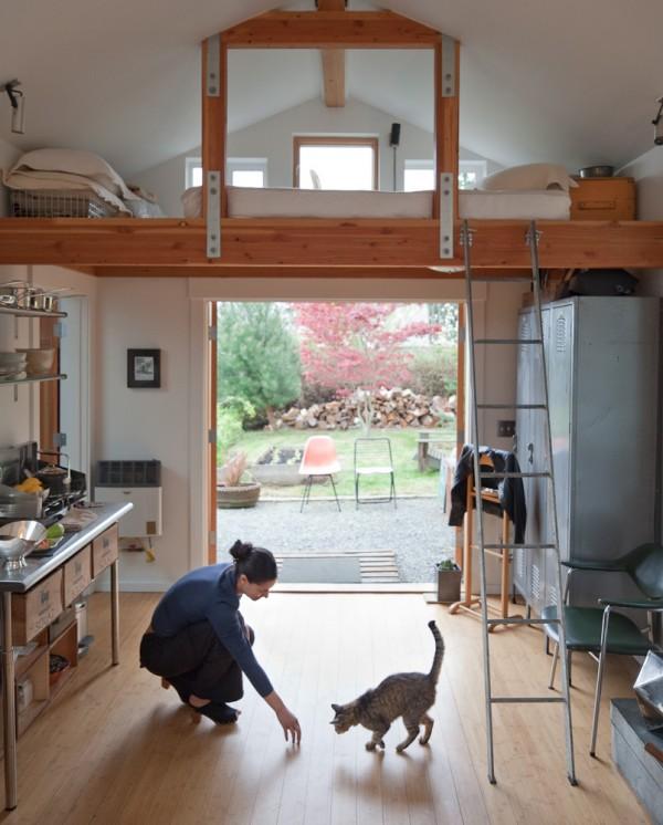 De garaje a mini-casa 4