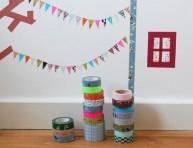 imagen Divertidas decoraciones con cinta washi
