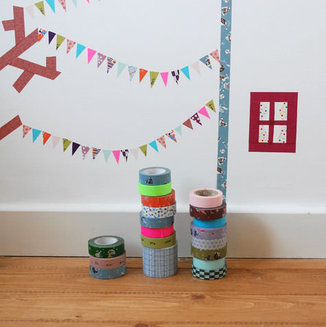 Decorar con cinta washi 3