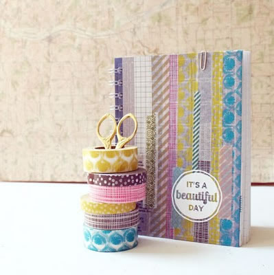 Decorar con cinta washi 6