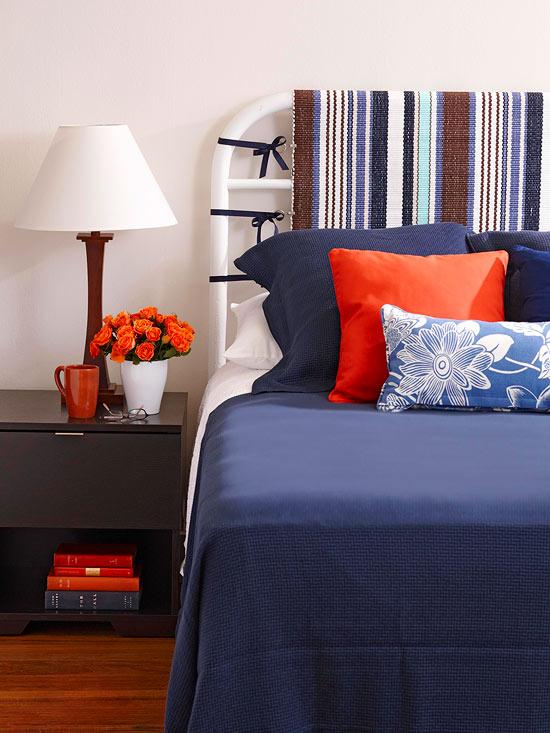 Cabeceros de cama elegantes y econ micos - Como hacer un cabecero de cama economico ...