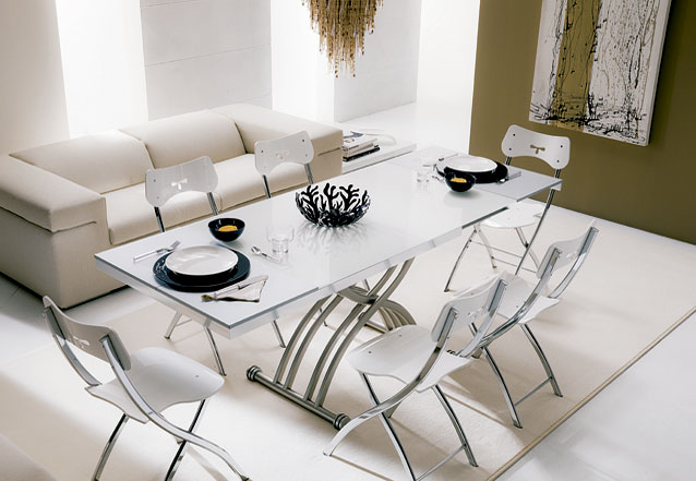 Ideas para espacios muy reducidos for Sofas modernos para espacios pequenos