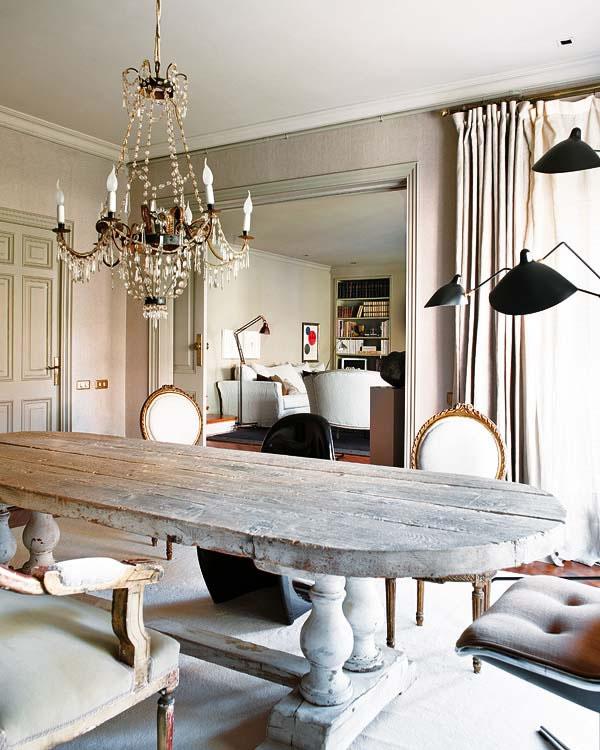 Eclectic Decorating Style Home Decor Vintage Small Kitchen: Lámparas Araña Como Aliado Decorativo