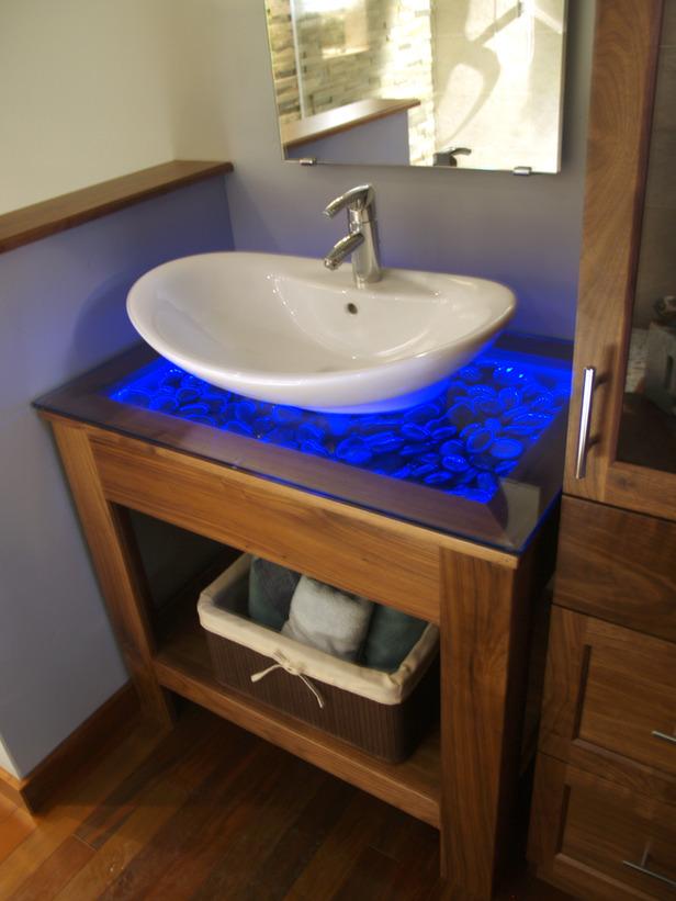 Luz y estilo en el cuarto de ba o for En el cuarto de bano