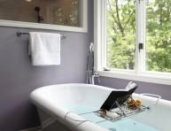 imagen Luz y estilo en el cuarto de baño