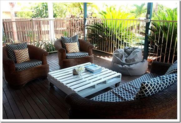 Mesas con palets para decorar for Cosas con tarimas de madera