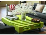 imagen Mesas con palets para decorar