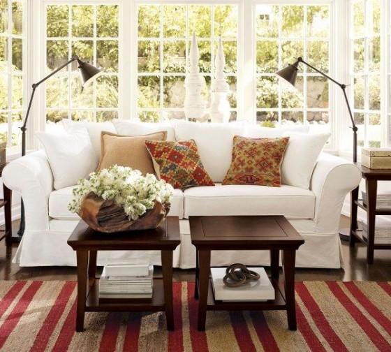 Sala de estar con estilo ingl s - Estilo ingles decoracion interiores ...