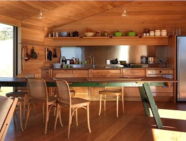 Una cabaña con decoración atractiva 2
