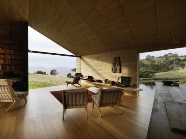 Una cabaña con decoración atractiva 5