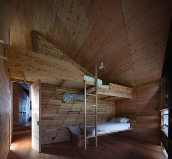 Una cabaña con decoración atractiva 6