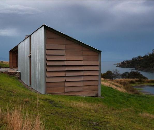 Una cabaña con decoración atractiva 9