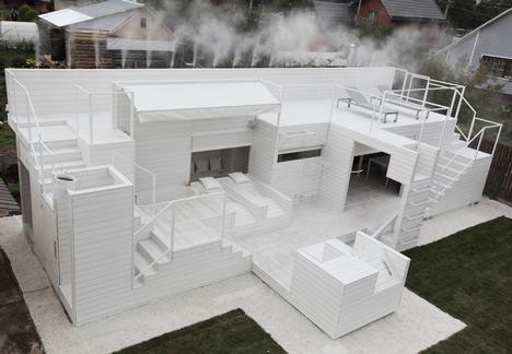 casa de vacaciones con diseño único 1