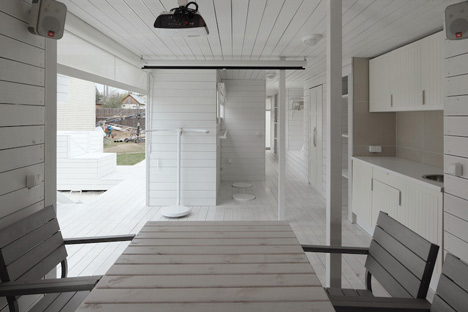 casa de vacaciones con diseño único 8