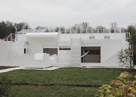 casa de vacaciones con diseño único 11