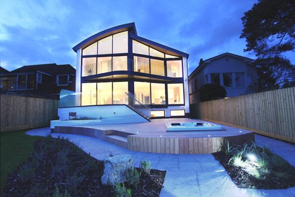 Lujosa casa de playa 1