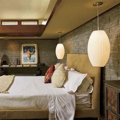 L mparas colgantes para el dormitorio Lamparas para exteriores modernas