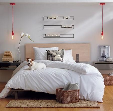 Lámparas colgantes para el dormitorio