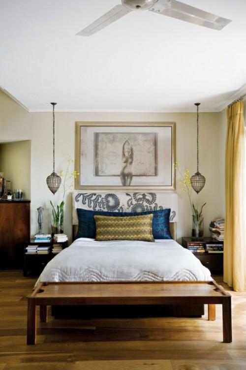 L mparas colgantes para el dormitorio - Lamparas de pared para dormitorios ...