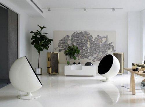 Departamento de decoración moderna 1