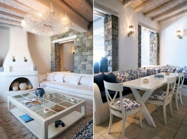 Una Casa De Vacaciones En Mykonos